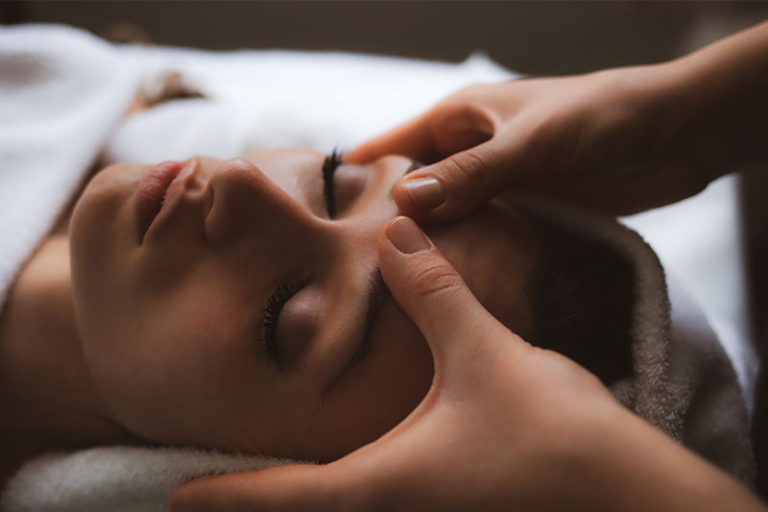 reflexoterapia faciala